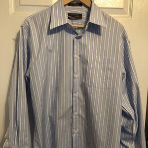 Nordstrom Wrinkle Free Traditional Fit Dress Shirt